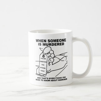 Know About Marriage Funny Mug