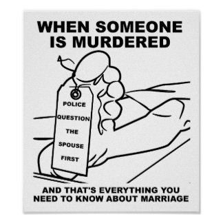 Know About Marriage Funny Poster