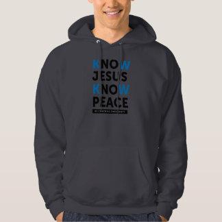 Know Jesus Know Peace, No Censorship Pullover