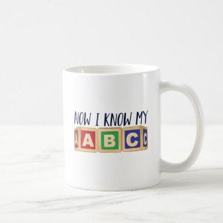 Know My ABC Coffee Mug