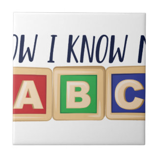 Know My ABC Tile