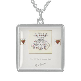 Know that Dreams can come True Sterling Silver Necklace