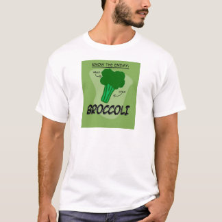 Know the Enemy! Broccoli T-Shirt
