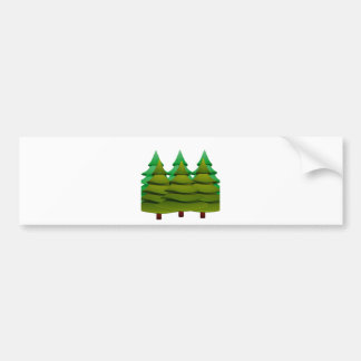 KNOW THE FOREST BUMPER STICKER