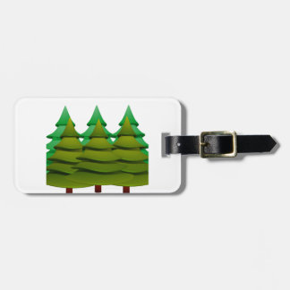 KNOW THE FOREST LUGGAGE TAG