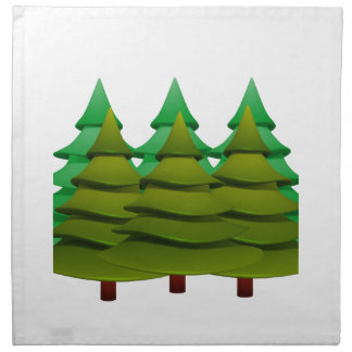 KNOW THE FOREST NAPKIN