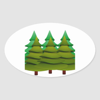 KNOW THE FOREST OVAL STICKER