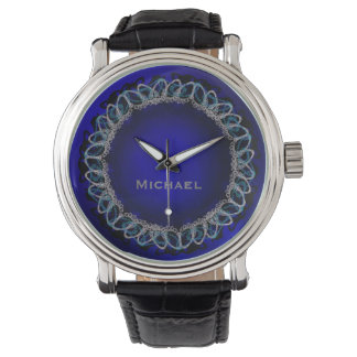 Know the Ropes on Royal Blue with Monogram Watch