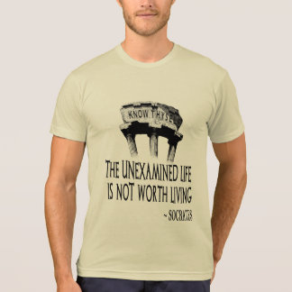 Know Thyself Men's Poly-Cotton T-Shirt