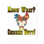 Know What?  Chicken Butt! Postcards