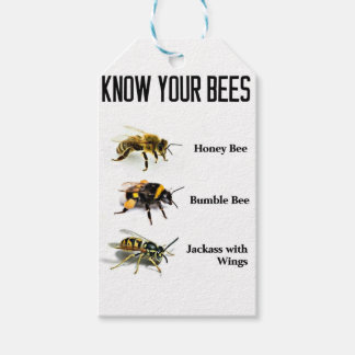 Know Your Bees Gift Tags
