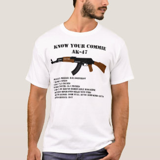Know Your Commie AK-47 T-Shirt
