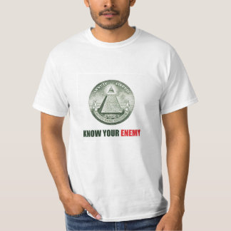 Know Your Enemy Illuminati T-Shirt