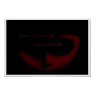 Know Your Enemy, Know Yourself Poster