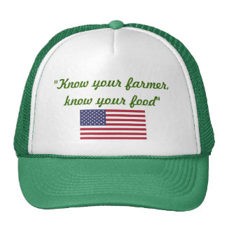 Know your Farmer cap Trucker Hat