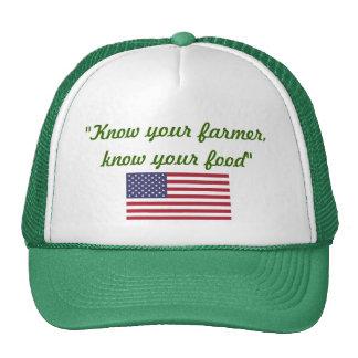 Know your Farmer cap Trucker Hat