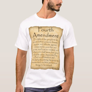 Know Your Rights-Fourth Amendment T-Shirt