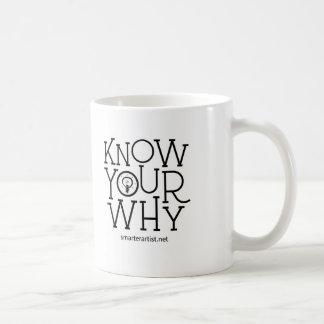 Know Your Why Smarter Artist Mug