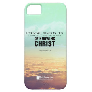 Knowing Christ iPhone 5 Cover