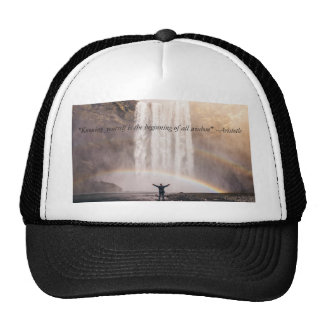 Knowing Yourself Quote - Cap Trucker Hat