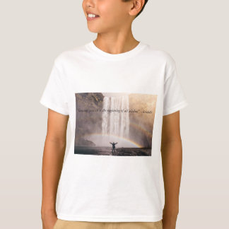 Knowing Yourself Quote - Kids T-Shirt