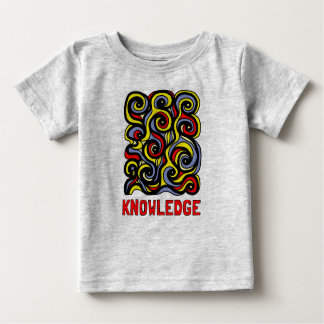 """Knowledge"" Baby Fine Jersey T-Shirt"