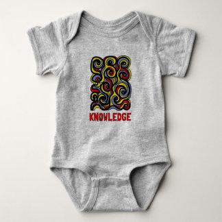"""Knowledge"" Baby Jersey Bodysuit"