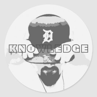 Knowledge Circle Sticker