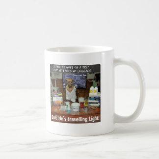 Knowledge Dog Photon Travelling Light Coffee Mug