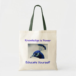 Knowledge is Power bag