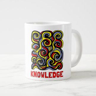 """Knowledge"" Jumbo Mug"