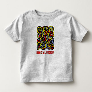 """""""Knowledge"""" Toddler Fine Jersey T-Shirt"""