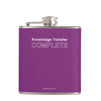 Knowledge Transfer Complete Hip Flask