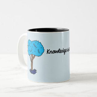 Knowledge Two-Tone Coffee Mug