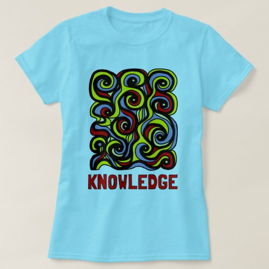 """Knowledge"" Women's T-Shirt"