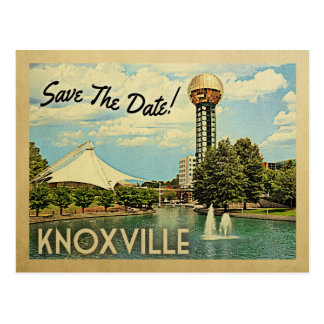 Knoxville Save The Date Tennessee Postcard