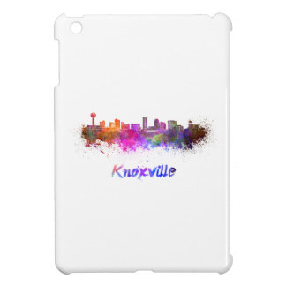 Knoxville skyline in watercolor cover for the iPad mini
