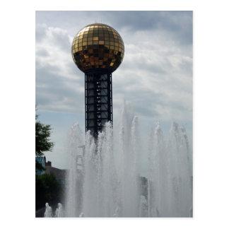 Knoxville Sun Sphere Postcard