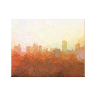 KNOXVILLE, TENNESSEE SKYLINE- In the Clouds Canvas