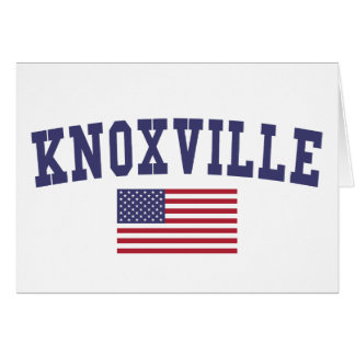 Knoxville US Flag Card