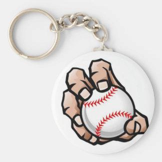 Knuckle Ball (Baseball) - Key Chain