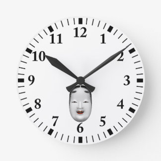 ko-omote round clock