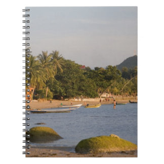 Ko Phangan, Thailand. Outside the hectic island Spiral Notebook