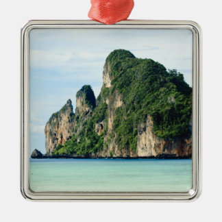 Ko Phi Phi Island on Andaman Sea, Krabi Metal Ornament