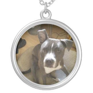 Koa Crazy Ears Silver Plated Necklace