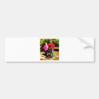 koa subjects 005 bumper sticker