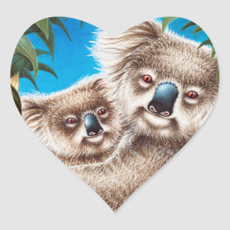 Koala and Baby Sticker