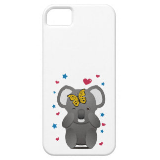 Koala And Butterfly iPhone 5 Cases