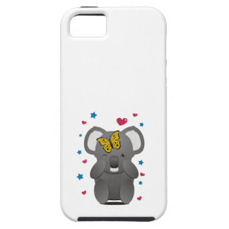 Koala And Butterfly iPhone 5 Covers