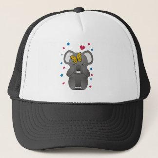 Koala And Butterfly Trucker Hat